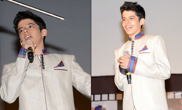 Darsheel Safary at the inaugural function of 18th International Children's Film Festival of India at Lalitakalathoranam on Thursday.