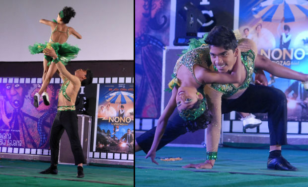 Children's dance performance at the inaugural function of 18th International Children Film Festival.
