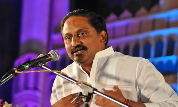 Kiran Kumar Reddy speaks during the inaugural function of 18th International Children's Film Festival of India.