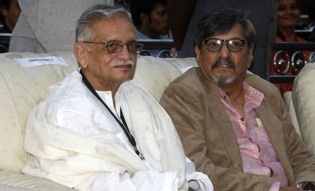 Gulzar and Amol Palekar at the inaugural function of 18th International Children's Film Festival of India.