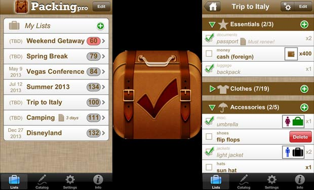 Top ten travel and vacation apps