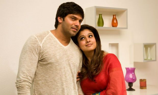 She was seen in the romcom movie 'Raja Rani' opposite Arya once again.