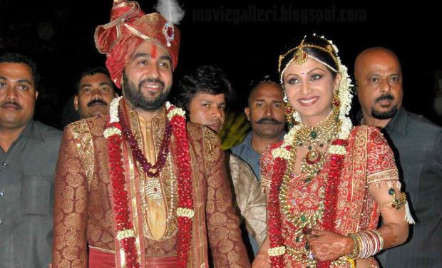 Private Ceremony Reception Later: Wedding Anniversary Special: Raj Kundra And Shilpa Shetty