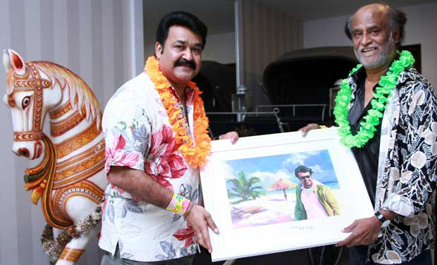 Malayalam superstar Mohanlal hosted this year's get together at his beachfront home in Injambakkam on ECR.