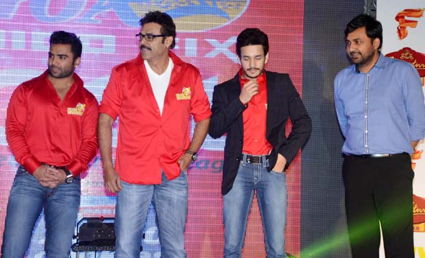 Telugu Warriors CCL Team Logo Launch
