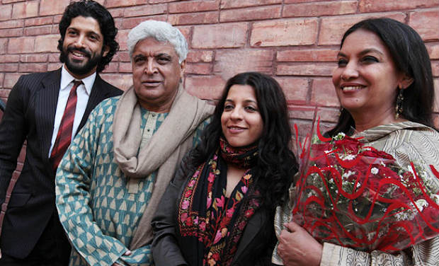 Image result for javed akhtar honey irani pictures