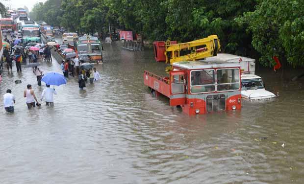 Image result for mumbai under heavy rain