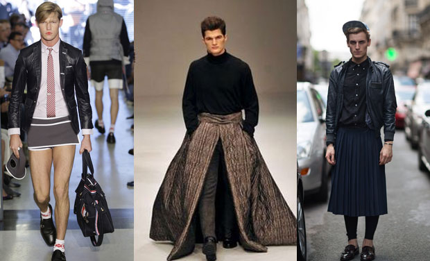 Ambisexual Fashion Label Says Men Can Don Skirts Too