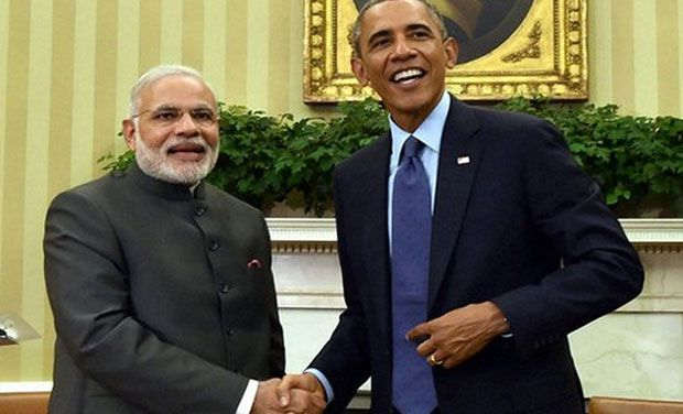 President Barack Obama meets with Indian Prime Minister Narendra Modi on September 30. (Photo: AP/File)