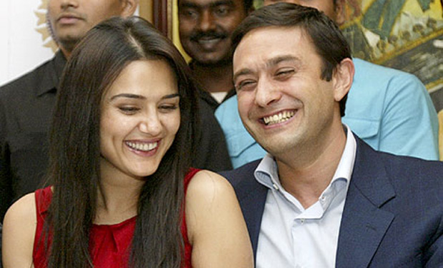 Actress Preity Zinta with her former boyfriend and businessman Ness Wadia (Photo: PTI/File)