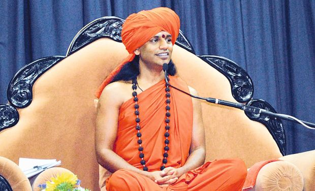 A file picture of self-styled godman Nithyananda (Photo: KPN)