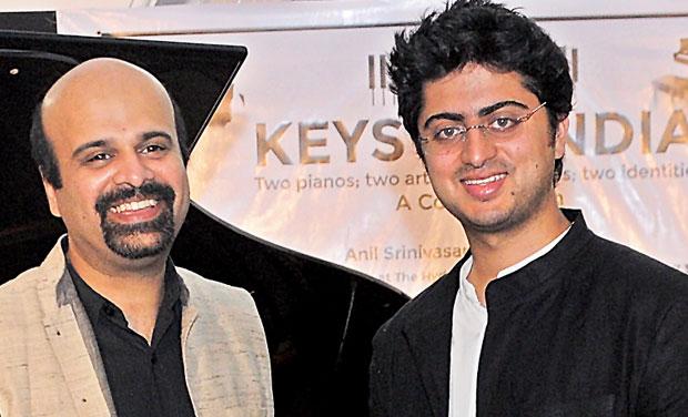 Striking a chord:  Anil Srinivasan and Sharik Hasan