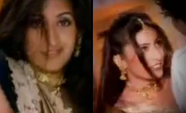 The video, which is perhaps a decade old, has a leaner Smriti Irani dressed in a gold and blue saree sizzling in Mika Singh's number. Seen here: A still from the video.