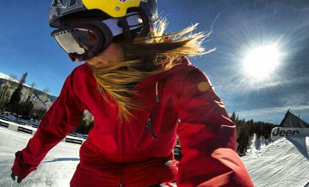 While most women stick to looking pretty, weird, wacky, a few have gone to extremes for a picture. Like this snowboarder or a woman who spent $15000 on cosmetic surgery for her perfect selfie.