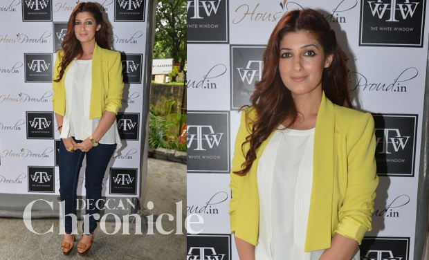 Designing Interiors And Running Lifestyle Store Writing Columns Managing Kids Twinkle Khanna Pulls