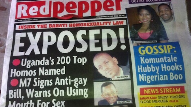 a new anti- gay law in the country