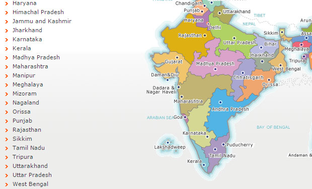 Telangana missing from the Home Ministry website